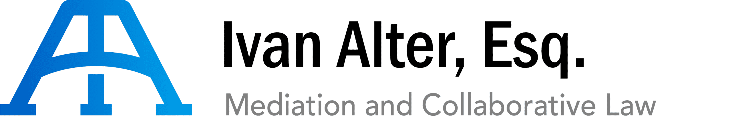 Ivan Alter mediation and collaborative law logo